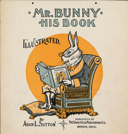 Old book cover of Mr Bunny